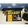 "FANMATS Missouri Uniform Inspired Starter Rug 19""x30"""