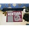 "FANMATS Montana Uniform Inspired Starter Rug 19""x30"""