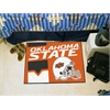 "FANMATS Oklahoma State Uniform Inspired Starter Rug 19""x30"""