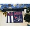 "FANMATS Mississippi Uniform Inspired Starter Rug 19""x30"""
