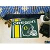 "FANMATS Oregon Uniform Inspired Starter Rug 19""x30"""