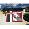 "FANMATS South Carolina Uniform Inspired Starter Rug 19""x30"""