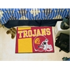 "FANMATS Southern California Uniform Inspired Starter Rug 19""x30"""