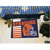 "FANMATS Syracuse Uniform Inspired Starter Rug 19""x30"""