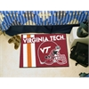 "FANMATS Virginia Tech Uniform Inspired Starter Rug 19""x30"""