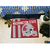 "FANMATS Washington State Uniform Inspired Starter Rug 19""x30"""