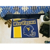 "FANMATS West Virginia Uniform Inspired Starter Rug 19""x30"""