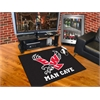 "FANMATS Eastern Washington Man Cave All-Star Mat 33.75""x42.5"" - red"