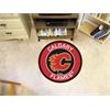 FANMATS NHL - Calgary Flames Roundel Mat