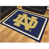 FANMATS Notre Dame (ND) 8'x10' Rug