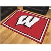 FANMATS Wisconsin 8'x10' Rug