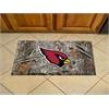 """FANMATS NFL - Arizona Cardinals Scraper Mat 19""""x30"""" - Camo"""