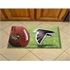 """FANMATS NFL - Atlanta Falcons Scraper Mat 19""""x30"""" - Ball"""