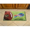 "FANMATS NFL - Buffalo Bills Scraper Mat 19""x30"" - Ball"