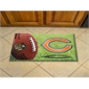 "FANMATS NFL - Chicago Bears Scraper Mat 19""x30"" - Ball"