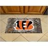 """FANMATS NFL - Cincinnati Bengals Scraper Mat 19""""x30"""" - Camo"""