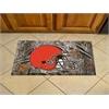 "FANMATS NFL - Cleveland Browns Scraper Mat 19""x30"" - Camo"