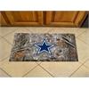 """FANMATS NFL - Dallas Cowboys Scraper Mat 19""""x30"""" - Camo"""