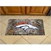 """FANMATS NFL - Denver Broncos Scraper Mat 19""""x30"""" - Camo"""
