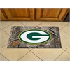 """FANMATS NFL - Greenbay Packers Scraper Mat 19""""x30"""" - Camo"""