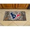 """FANMATS NFL - Houston Texans Scraper Mat 19""""x30"""" - Camo"""