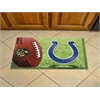 """FANMATS NFL - Indianapolis Colts Scraper Mat 19""""x30"""" - Ball"""
