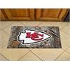 """FANMATS NFL - Kansas City Chiefs Scraper Mat 19""""x30"""" - Camo"""