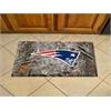 """FANMATS NFL - New England Patriots Scraper Mat 19""""x30"""" - Camo"""