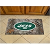"FANMATS NFL - New York Jets Scraper Mat 19""x30"" - Camo"