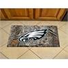 """FANMATS NFL - Philadelphia Eagles Scraper Mat 19""""x30"""" - Camo"""