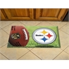 "FANMATS NFL - Pittsburgh Steelers Scraper Mat 19""x30"" - Ball"