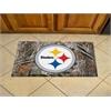 "FANMATS NFL - Pittsburgh Steelers Scraper Mat 19""x30"" - Camo"