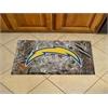 "FANMATS NFL - San Diego Chargers Scraper Mat 19""x30"" - Camo"