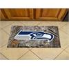 """FANMATS NFL - Seattle Seahawks Scraper Mat 19""""x30"""" - Camo"""