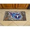 """FANMATS NFL - Tennessee Titans Scraper Mat 19""""x30"""" - Camo"""