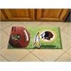 "FANMATS NFL - Washington Redskins Scraper Mat 19""x30"" - Ball"