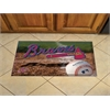 "FANMATS MLB - Atlanta Braves Scraper Mat 19""x30"" - Ball"