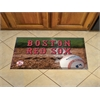 "FANMATS MLB - Boston Red Sox Scraper Mat 19""x30"" - Ball"