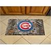 """FANMATS MLB - Chicago Cubs Scraper Mat 19""""x30"""" - Camo"""