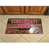 "FANMATS MLB - Cincinnati Reds Scraper Mat 19""x30"" - Ball"