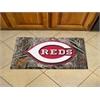 "FANMATS MLB - Cincinnati Reds Scraper Mat 19""x30"" - Camo"