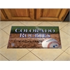 "FANMATS MLB - Colorado Rockies Scraper Mat 19""x30"" - Ball"