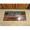 "FANMATS MLB - Detroit Tigers Scraper Mat 19""x30"" - Ball"