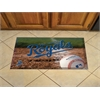 "FANMATS MLB - Kansas City Royals Scraper Mat 19""x30"" - Ball"
