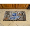 """FANMATS MLB - Kansas City Royals Scraper Mat 19""""x30"""" - Camo"""