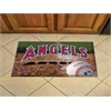 "FANMATS MLB - Los Angeles Angels Scraper Mat 19""x30"" - Ball"
