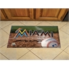 "FANMATS MLB - Florida Marlins Scraper Mat 19""x30"" - Ball"