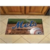 "FANMATS MLB - New York Mets Scraper Mat 19""x30"" - Ball"