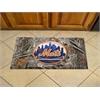 "FANMATS MLB - New York Mets Scraper Mat 19""x30"" - Camo"