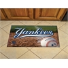 "FANMATS MLB - New York Yankees Scraper Mat 19""x30"" - Ball"